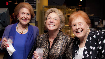 Marcella Apter, Harriet Lewis and Bev Mermelstein.