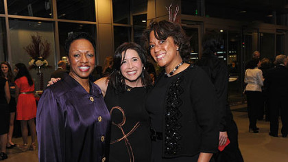 From left, Winifred Torbert, Heather Arnet and Candi Castleberry-Singleton.