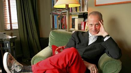 Writer and director John Waters, shown at his home in New York in 2008, will lead an evening gallery walk on Jan. 31 at The Andy Warhol Museum.