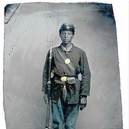 Capt. William Catlin joined the 32nd U.S. Colored Troops after being rejected by the Union Army because he was black.