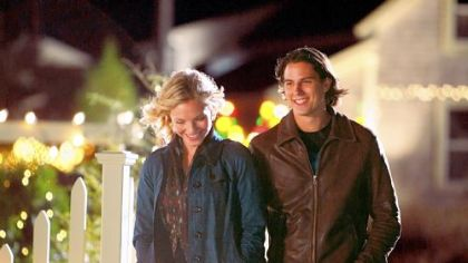 "Eloise Mumford and Sean Faris star in Hallmark Hall of Fame's ""Christmas With Holly,"" airing on ABC."