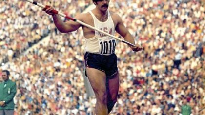 Bill Schmidt in the 1972 Olympics.
