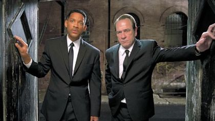 "Will Smith and Tommy Lee Jones return as agents in the third installment of ""Men in Black."""