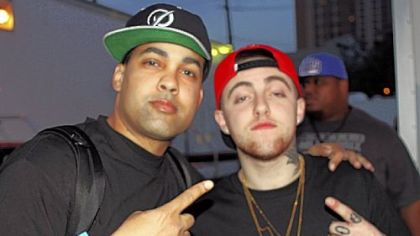 Rappers Jasiri X and Mac Miller at SXSW Conference in March.