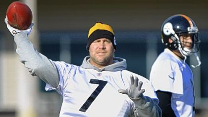 Ben Roethlisberger went through a full practice Wednesday for the first time since he was injured Nov. 12.