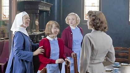"In episode one of ""Call the Midwife,"" Sister Julienne, Cynthia Miller and Trixie Franklin welcome Jenny Lee to Nonnatus House.  PBS has announced that the drama will return for its second season March 31. A Christmas episode of the show will air at 7:30 p.m. Dec. 30 on WQED-TV."