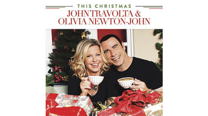 """This Christmas,"" a holiday album with John Travolta and Olivia Newton-John."