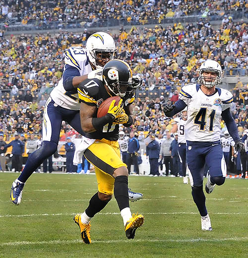 Chargers stun Steelers in 34-24 loss for Pittsburgh