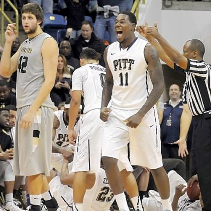 Senior post player Dante Taylor is playing some of the best basketball of his up-and-down career at Pitt.