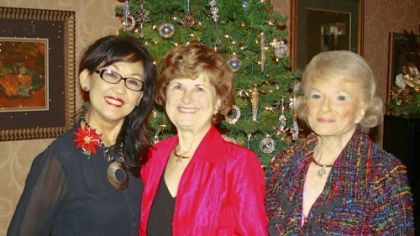 Tina Purpura, Doris Delserone and Rose Kunkel Roarty.