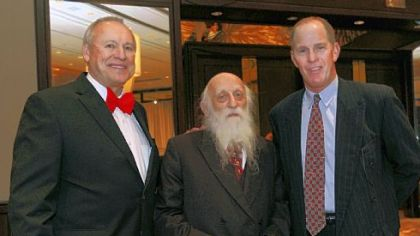 Ken Ramsey, Dr. Abraham Twerski and Steve Ford.