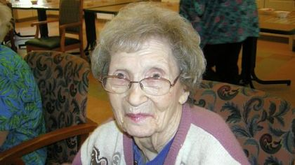 Jeanette Neuman -- Turns 100 on Dec. 17.