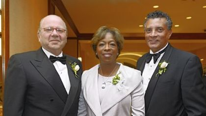 Jared Cohon, Doris Carson Williams and Tim Stevens.