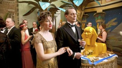 Kelly Macdonald and Steve Buscemi star in HBO&#039;s &quot;Boardwalk Empire,&quot; a SAG nominee for top TV drama ensemble.