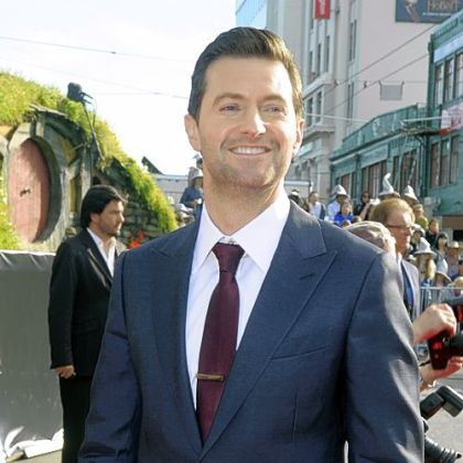 "Cast member Richard Armitage poses on the red carpet at the premiere of ""The Hobbit: An Unexpected Journey,""  at the Embassy Theatre, in Wellington, New Zealand, Wednesday, Nov. 28, 2012."
