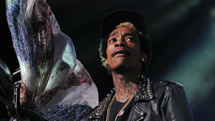 Wiz Khalifa raps for the hometown crowd at Consol.