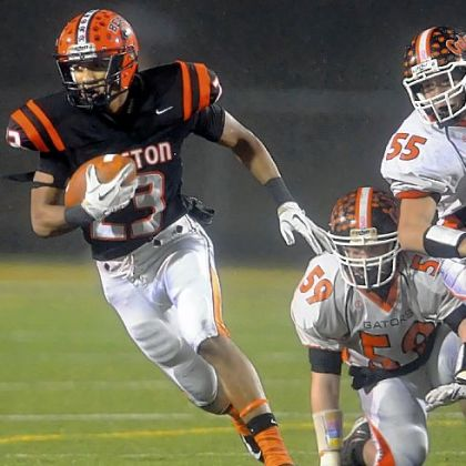 Clairton&#039;s Tyler Boyd has scored 50 touchdowns this season.