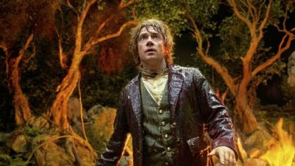 Martin Freeman is the Hobbit Bilbo Baggins in &quot;The Hobbit: An Unexpected Journey.&quot;