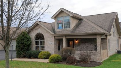 This quad-style patio home at The Links at Deer Run is on the market for $244,000.