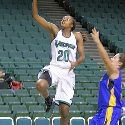Cleveland State's Shalonda Winton is ranked fifth in Division I in scoring.