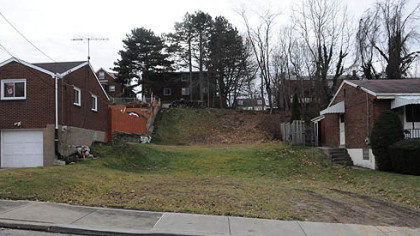 The Stanton Heights home where Richard Poplawski shot and killed three Pittsburgh police officers in 2009 has been razed.