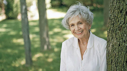 "Alice Munro, author of ""Dear Life: Stories."""