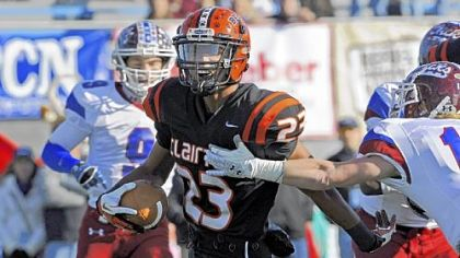 Tyler Boyd is one of many Clairton seniors who won't be back next year to help the new-look Bears build on their winning streak.