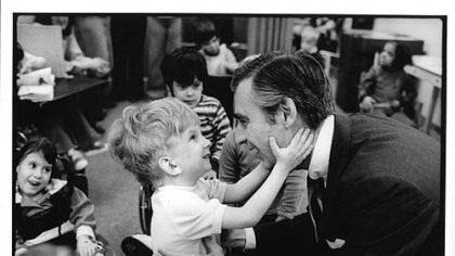 The image of Mister Rogers that went viral after the shootings in Newtown, Conn., was taken at the Children's Institute in Pittsburgh.