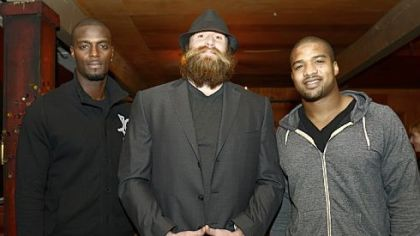 Plaxico Burress, Brett Keisel, Chris Carter