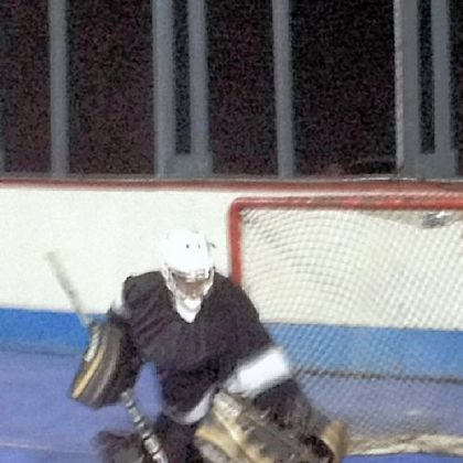 Is that Sid? Penguins captain Sidney Crosby goaltending at Dek Star, a dek hockey rink in Ohio Township. He recorded a shutout, 4-0.