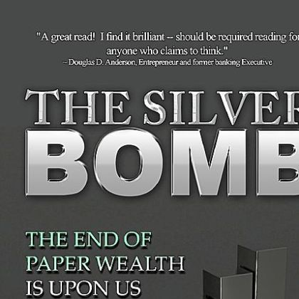 The Silver Bomb book, written by Michael MacDonald and Christopher Whitestone.