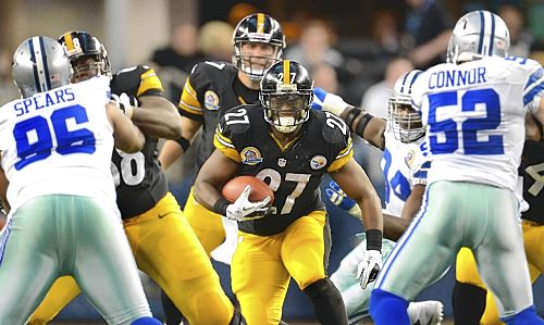 Return of running game a must for Steelers offense