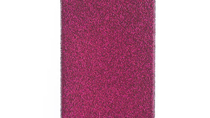 Glitter iPhone 4 or 4s case, on sale for $14.99 at J.Crew (www.jcrew.com).