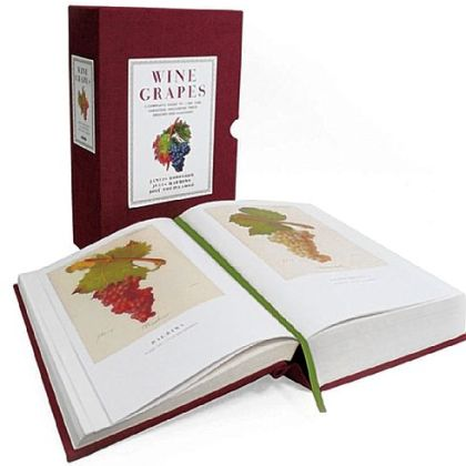 """Wine Grapes,: A Complete Guide to 1,368 Vine Varieties, Including Their Origins and Flavors"" by Jancis Robinson, Julia Harding and Dr. Jose Vouillamoz, (HarperCollins, Nov. 2012, $175)."