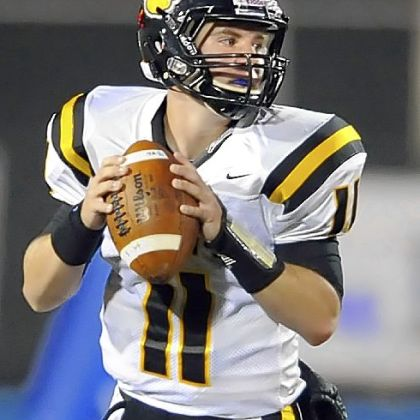 North Allegheny senior quarterback Mack Leftwich had a season worth remembering, leading the Tigers to a PIAA title.