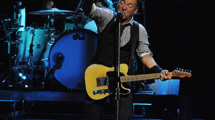 Bruce Springsteen performs at Consol Energy Center with the E Street Band.