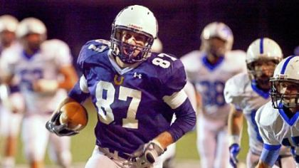 Penn State recruit Adam Breneman outruns the Exeter Township defense in a PIAA Class AAAA playoff game in 2011.