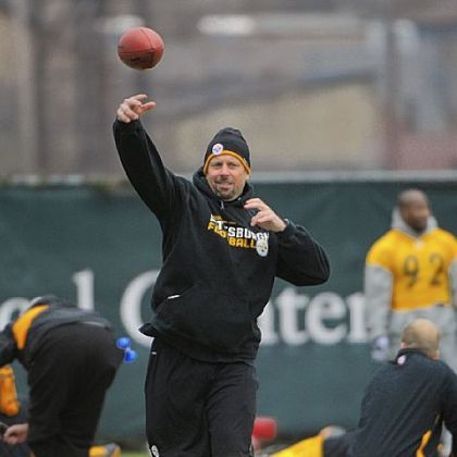 Steelers offensive coordinator Todd Haley, throwing passes at practice Wednesday, was not upset with Ben Roethlisberger's criticism after the loss Sunday at Dallas.