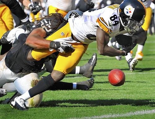 Steelers wide receivers have been productive, but turnovers are…