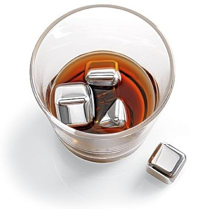 n&#039;ICE Cubes(TM)Stainless Steel Drink Chillers