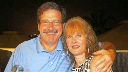 Mark Sherlach and school psychologist Mary Sherlach, 56