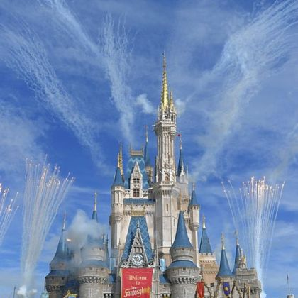 Fireworks punctuate the grand opening celebration at the Cinderella Castle for the New Fantasyland attraction at the Walt Disney World Resort's Magic Kingdom theme park in Lake Buena Vista, Fla., this month.