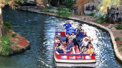 Narrated boat tours are a popular way to explore the San Antonio River and the River Walk.
