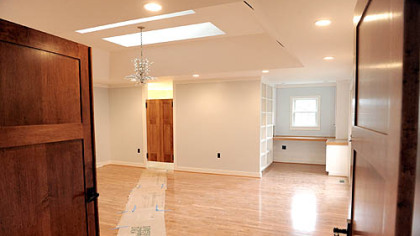Renovations are nearly complete on the new first floor master suite Suzanne and Neil Alexander had built at their O'Hara home. New features within the house are meant to help prolong Mr. Alexander's independence as his amyotrophic lateral sclerosis progresses.