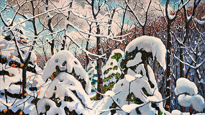 &quot;Winter&quot; by Charles &quot;Bud&quot; Gibbons