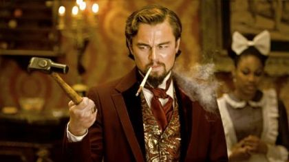 "Leonardo DiCaprio portrays a plantation owner  in ""Django Unchained."""