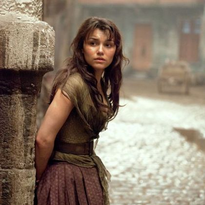Samantha Barks reprises her role of Eponine in the new film adaptation of &quot;Les Miserables, which she also has played on stage.