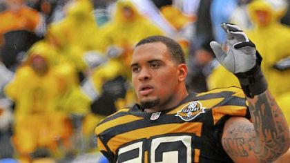Steelers center Maurkice Pouncey.