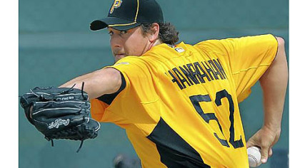 Former Pirates pitcher Joel Hanrahan