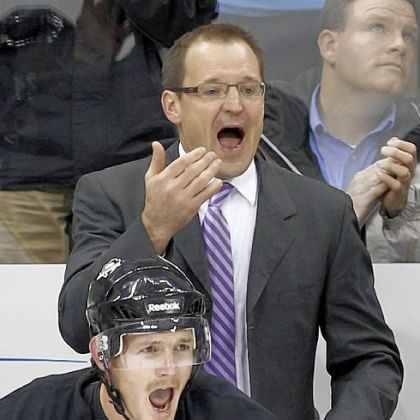 Penguins coach Dan Bylsma, top, and Matt Cooke haven't had much to yell about during NHL lockout.